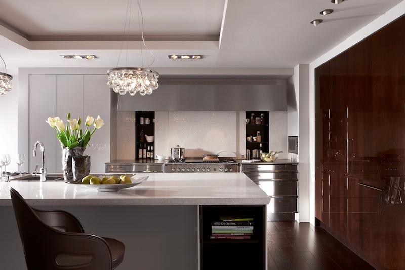 A swanky kitchen