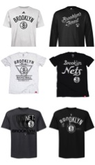 Brooklyn Nets fan gear and t-shirts
