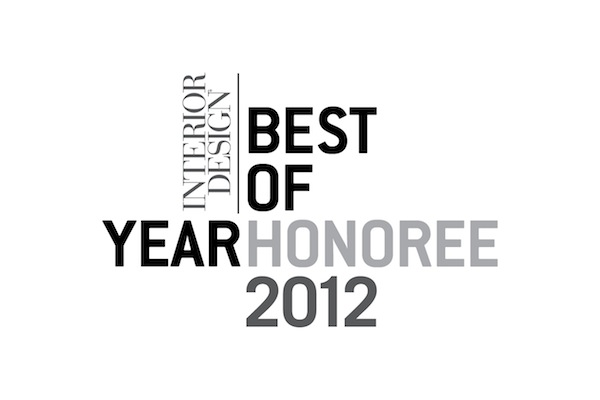 Graphic reads: Interior Design Best of Year Honoree 2012