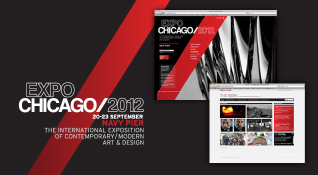 EXPO Chicago 2012 website homepage