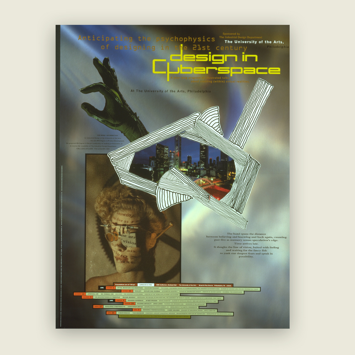 Design in Cyberspace poster