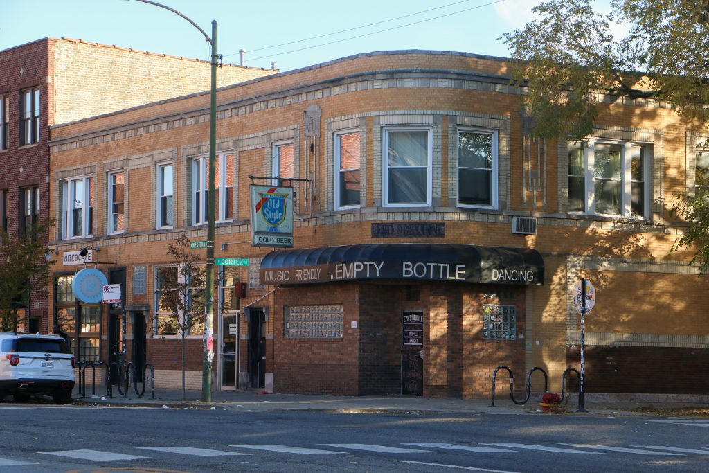 Exterior view of the Empty Bottle