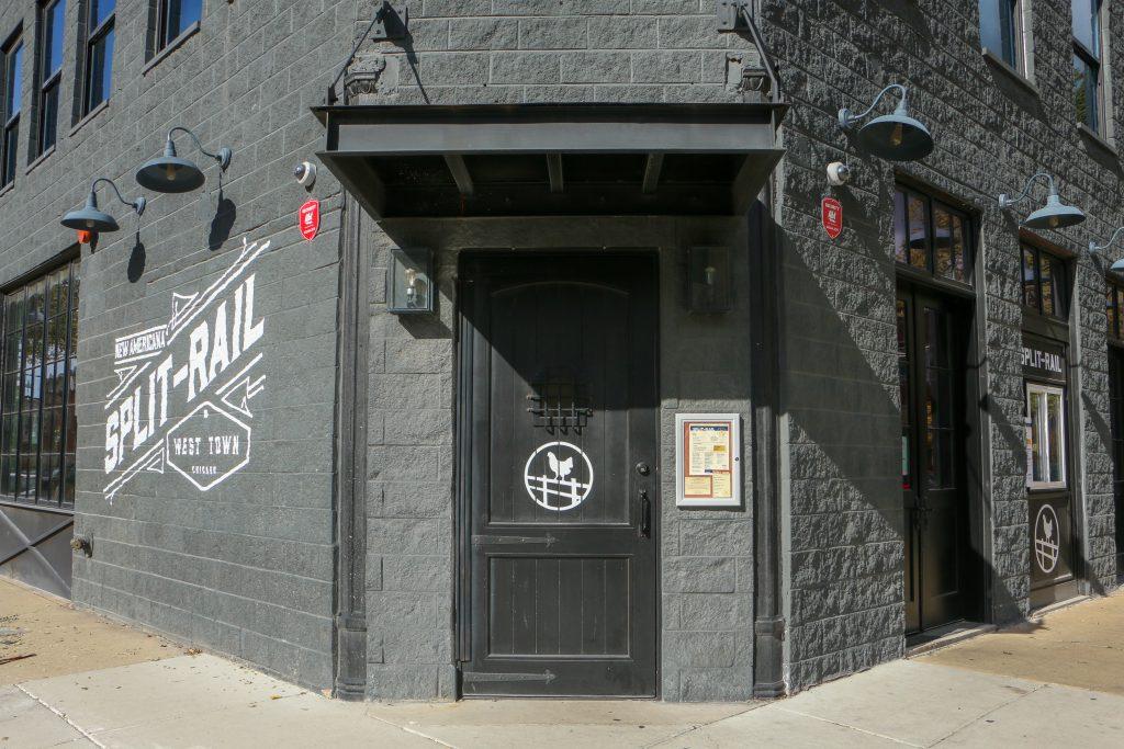 Exterior view of Split-Rail restaurant