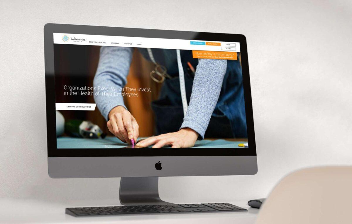 Website design for Interactive Health