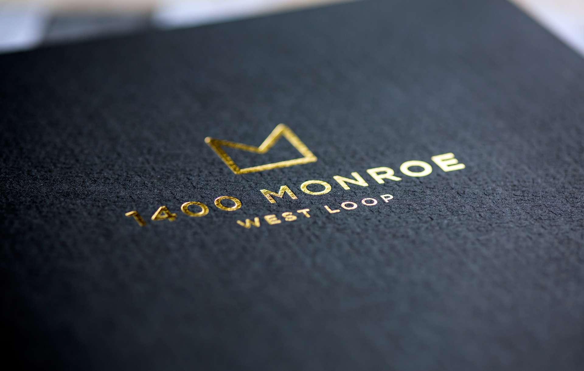 Collateral kit designed for real estate brand 1400 Monroe