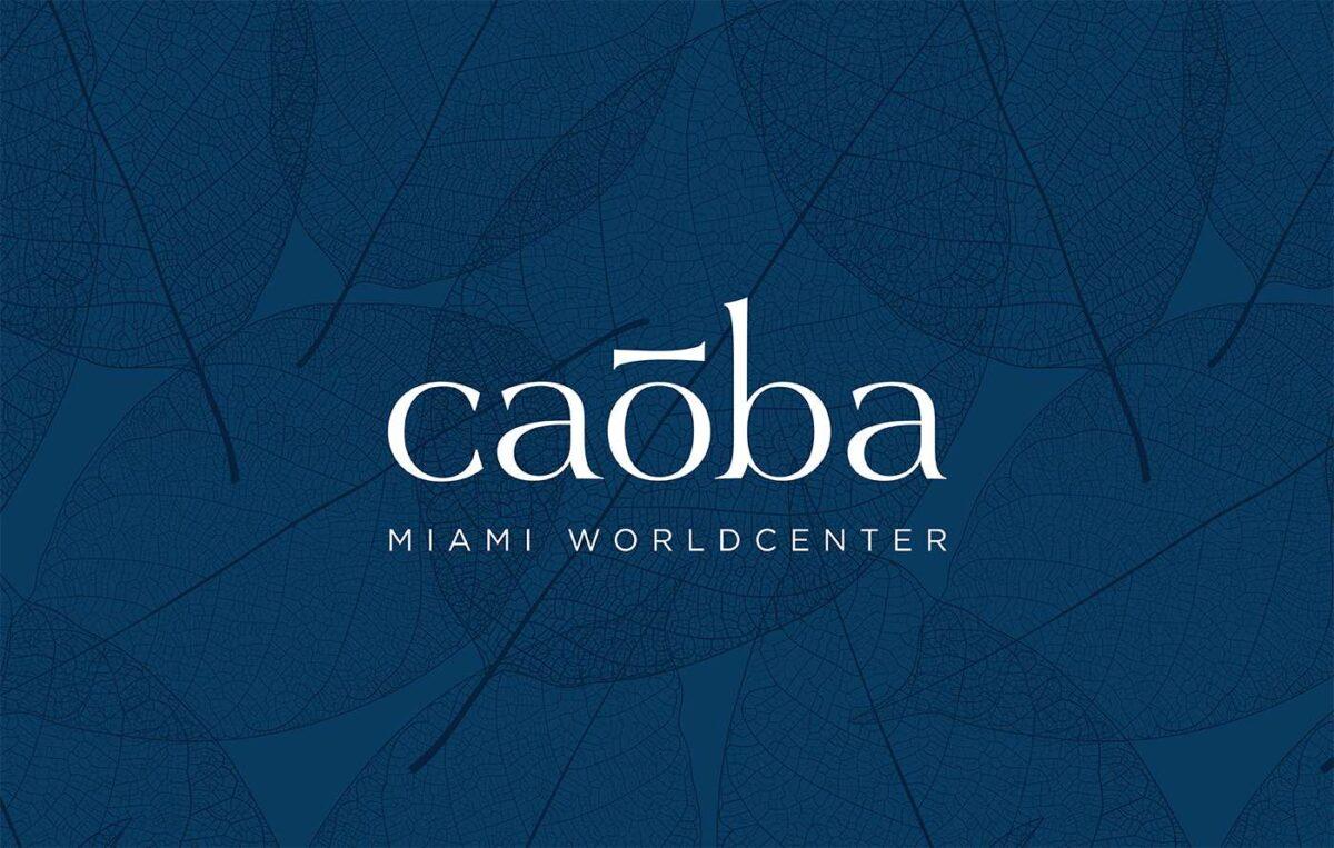 Logo design for real estate brand Caoba