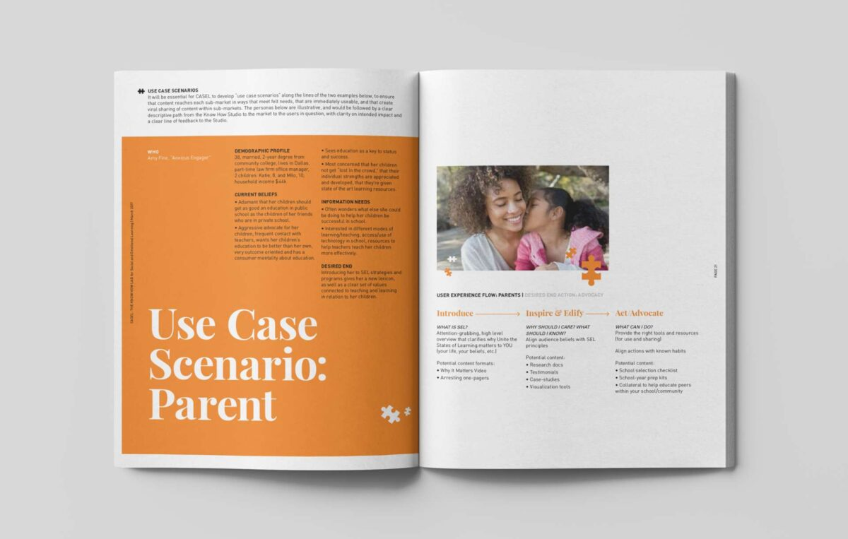 Print collateral design for CASEL