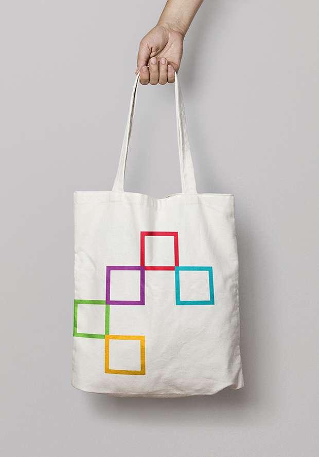 Tote bag design for CASEL