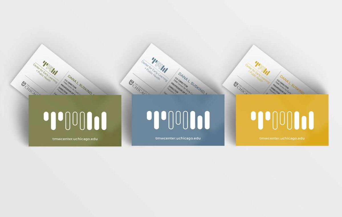 Business card design for Thirty Million Words