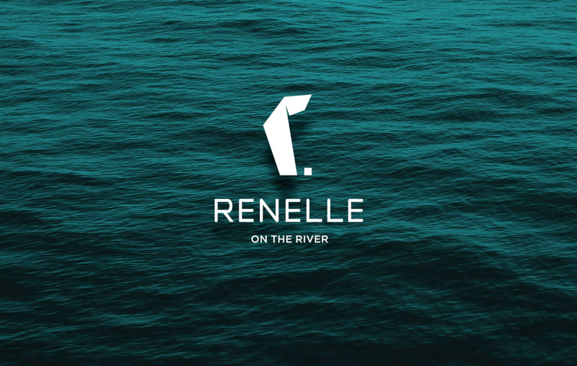 Logo design for Renelle on the River