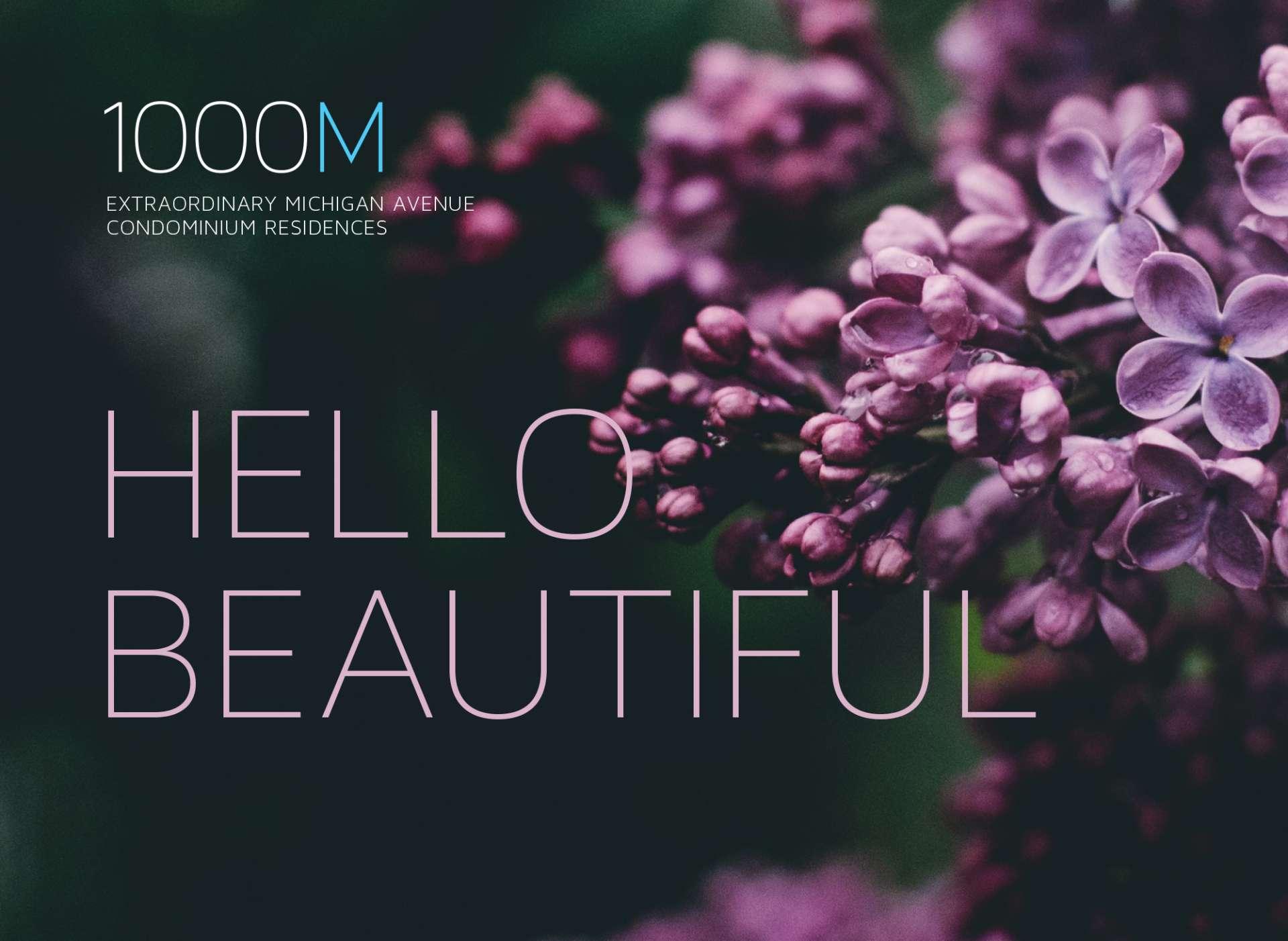 1000M Hello, Beautiful Campaign