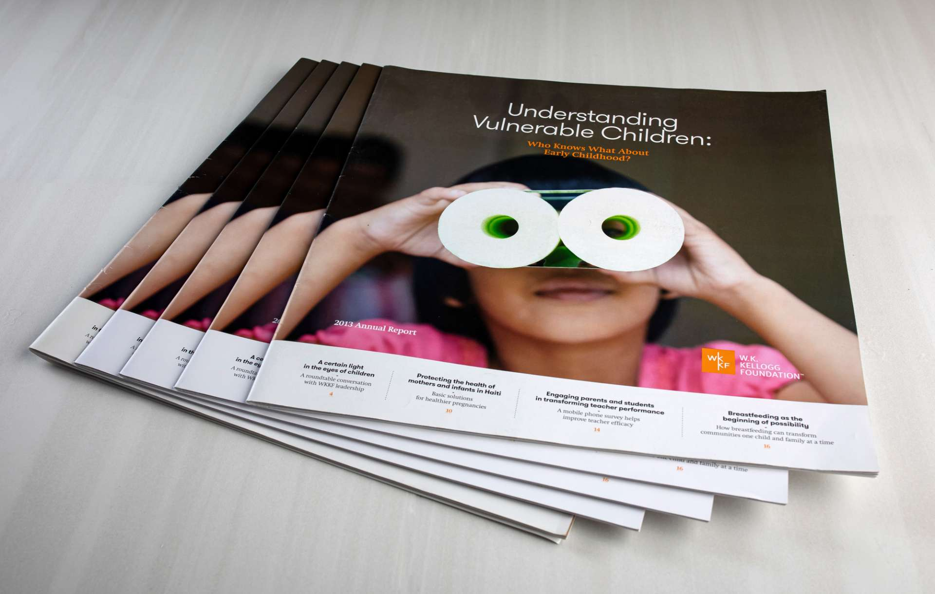 WK Kellogg Foundation Annual Reports