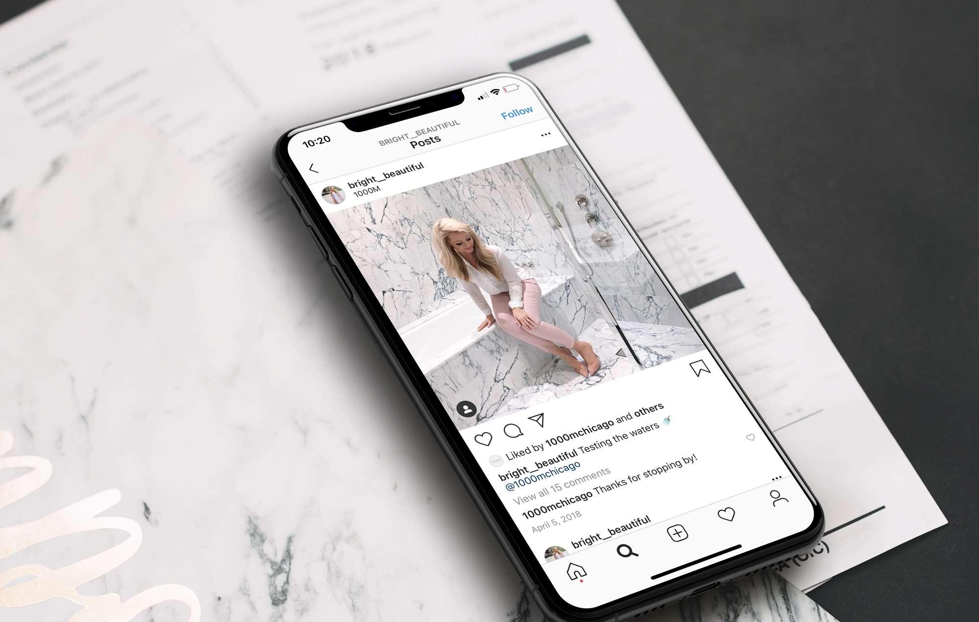 Real estate 1000m social media instagram project