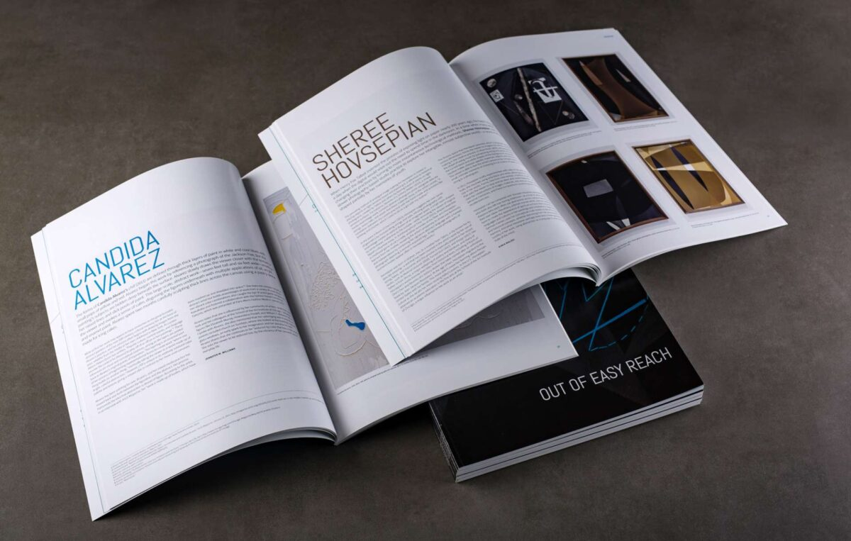 Catalogue designed for Out of Easy Reach