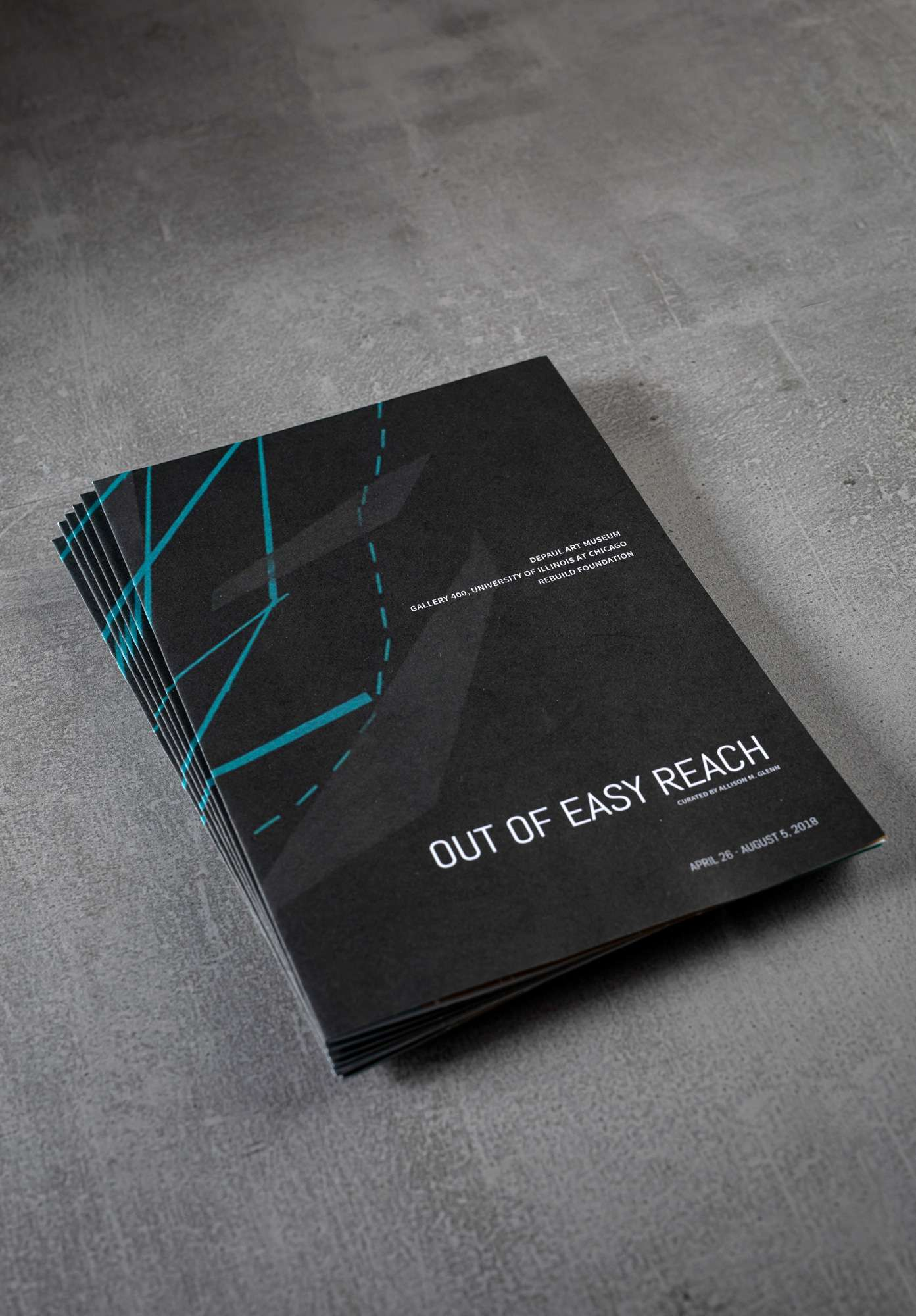 Catalogue cover for Out of Easy Reach